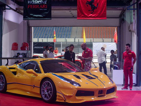 The 10th edition of Passione Ferrari returns to Qatar