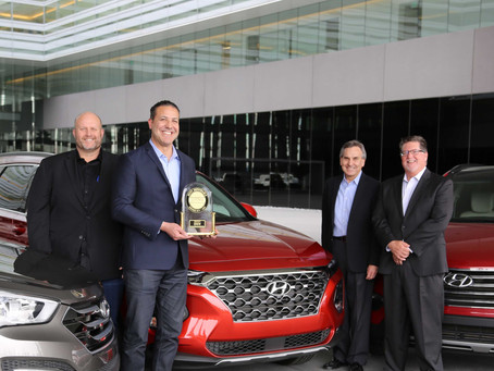 Hyundai Santa Fe Named Most Dependable Mid-Size SUV by J.D. Power