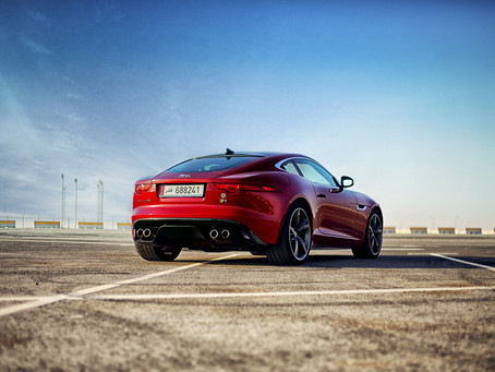 Hard R, the F-Type R is not for children