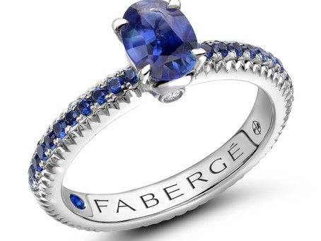 Fabergé Introduces New Colours of Love Rings