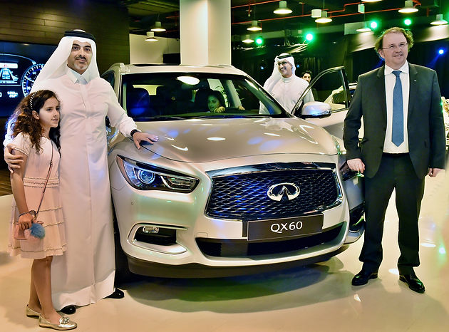 Saleh Al Hamad Al Mana Co  together with Infiniti Launches