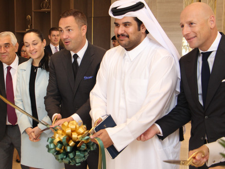 InterContinental® Doha Opens Their  Stunning Lobby Lounge
