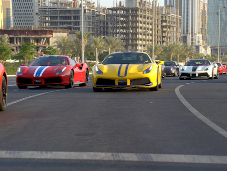 Alfardan Sports Motors observes Men's Cancer Awareness Month with exclusive track day in partner