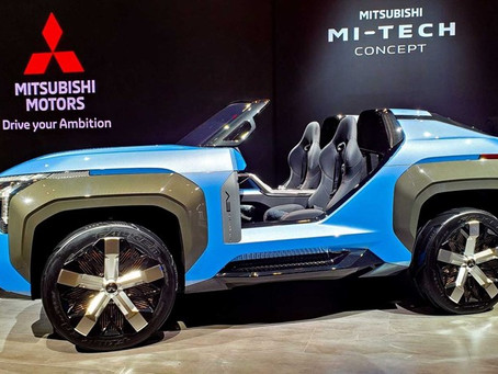 Mitsubishi Motors Invited Media from Qatar to view its New Concepts & latest Models