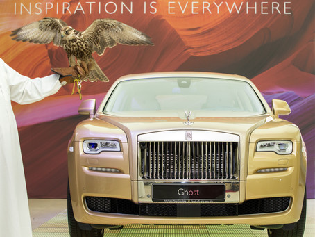 ROLLS-ROYCE MOTOR CARS DOHA SHOWCASES HERITAGE-INSPIRED BESPOKE GHOSTS AT THE PEARL, QATAR