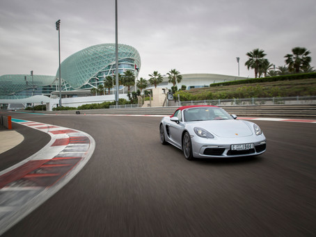 Boxing Day, the new Boxster is a mix of classic Porsche and teutonic turbos