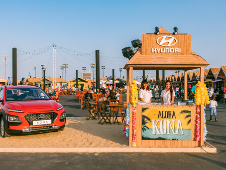The All-New Hyundai KONA delights audiences at The Burger Festival 2018