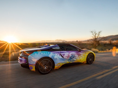BMW i official partner of Coachella Valley Music and Arts Festival 2019.
