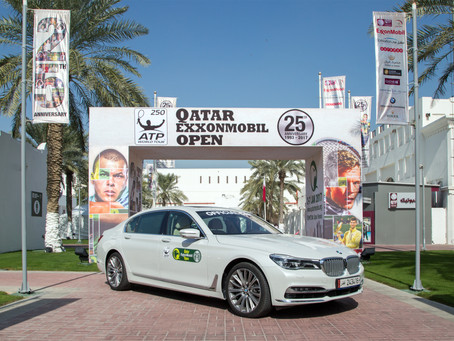 Alfardan Automobiles and Qatar Tennis Federation mark a decade of partnership at Qatar ExxonMobil Op