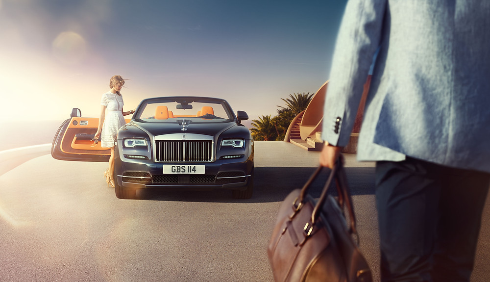 Rolls Royce Dawn , maqina Qatar
