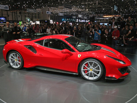 The Ferrari 488 Pista:   the synthesis of extreme, track-level power and driving exhilaration for th