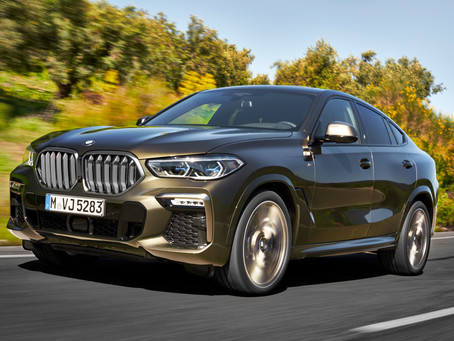 The new BMW X6. A leader with broad shoulders.