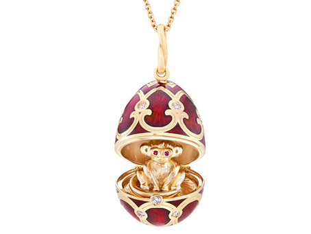 Fabergé Welcomes Chinese New Year with Rat Pendant