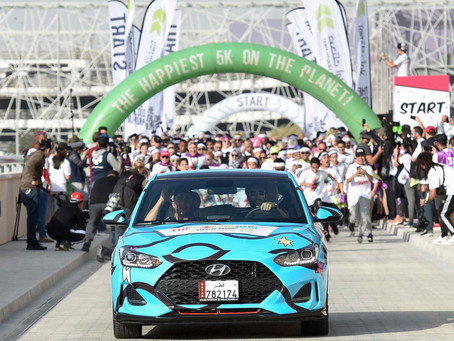 Hyundai concludes its first participation in The Color Run presented by Sahtak Awalan: Your Health F