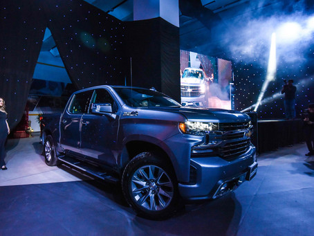 Chevrolet showcases three new models in exclusive event including the All New Silverado