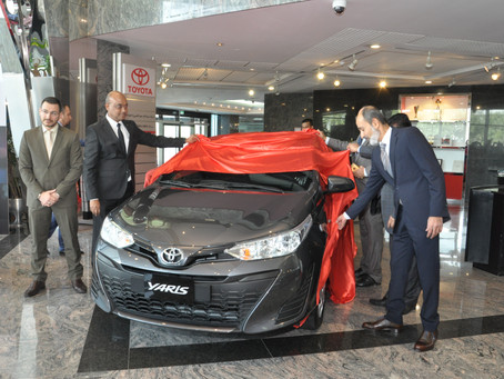 AAB launched the all-new Yaris Hatchback 2018