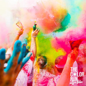 The Color Run 2020.The Color Run Presented By Sahtak Awlan Your Health First