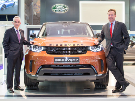All-New Discovery makes debut in Qatar at Qatar Motor Show 2017