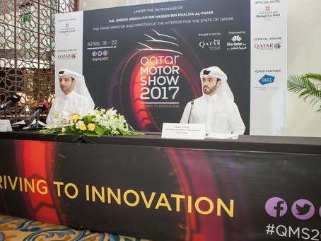 Qatar Motor Show 2017 Set to Showcase Automotive Innovation Next Month
