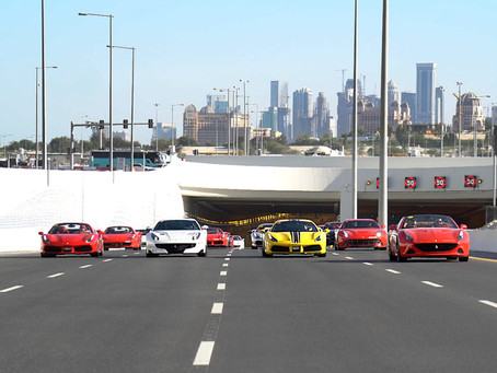 Alfardan Sports Motors hosts an exclusive Passione Ferrari day experience