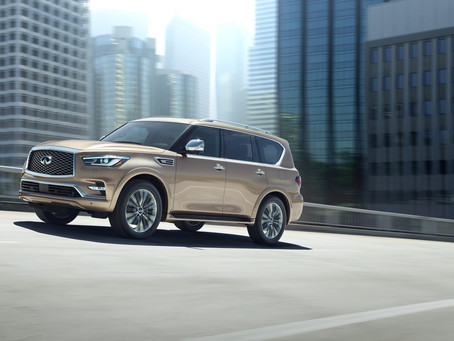 INFINITI unveils new QX80 at  Dubai International Motor Show