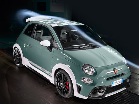 The New Abarth 695 70° Anniversario is the undisputed star of the 2019 Abarth Days