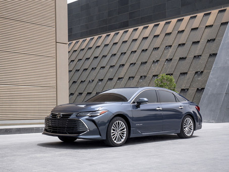 AAB launch Luxurious and dynamic all-new 2019 Toyota Avalon in Qatar Motor Show