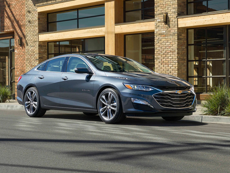 2019 Chevrolet Malibu arrives in the Middle East
