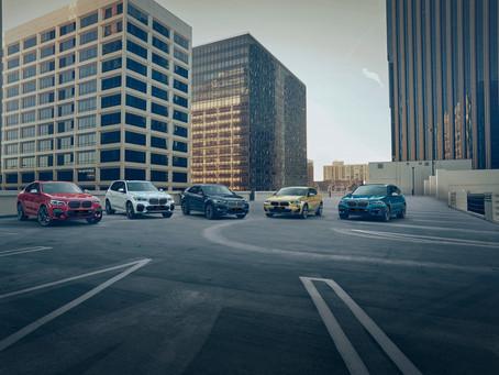 Drive off in a brand-new BMW sedan or X-range