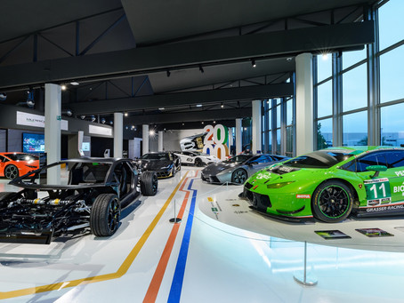 Lamborghini launches the new Museum of Technology - MUDETEC