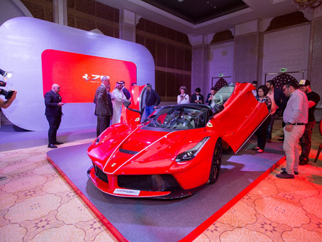 Ferrari Qatar launches 70th anniversary celebrations with an exclusive parade