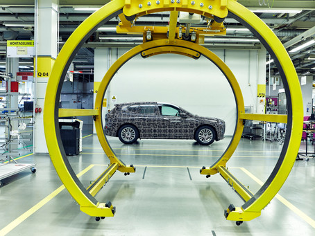 Exclusive Insights at Research & Innovation Centre: BMW Group Pilot Plant Builds BMW iNEXT Prototype
