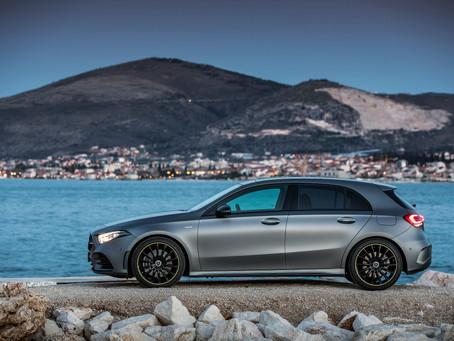 Mercedes-Benz A Class..sporty design and distinctive features