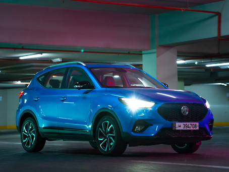 The 2021 MG ZST, a compact SUV with modern style and cutting-edge technologies