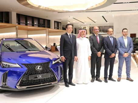 AAB launched the all-new 2019 Lexus UX  The Compact Crossover for a Refined Luxury Drive.