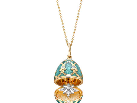 Fabergé Unveils New Festive Star Lockets