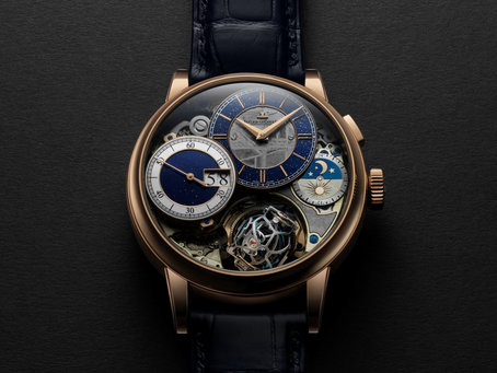 WHEN A METEORITE MEETS HIGH WATCHMAKING: