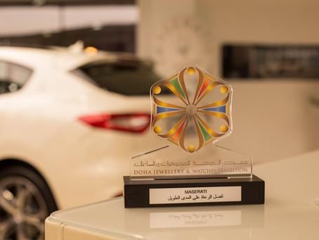 """Alfardan Sports Motors, Qatar's official Maserati Importer Qatar wins DJWE's """"Best Sponsor"""" award"""