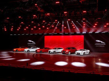 Jaguar's Stellar Dubai International Motor Show Line-up Will Be Its Biggest Yet at Region's Premier