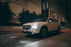 The 2021 Hyundai Santa Fe, an upscale family SUV with bold design and cutting-edge technologies