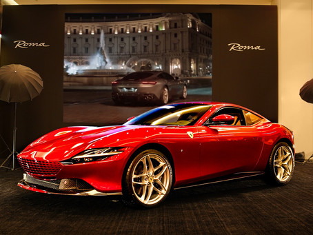 Ferrari Roma makes its Qatari debut