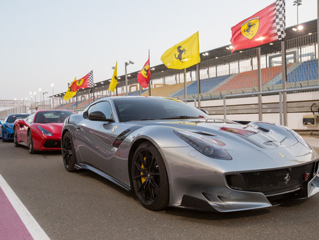 Alfardan Sports Motors celebrates Ferrari racing heritage with exclusive track day