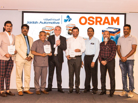 JAIDAH INDEPENDENT AFTERMARKET AND OSRAM AUTOMOTIVE LIGHTING HOLD CUSTOMER APPRECIATION EVENT