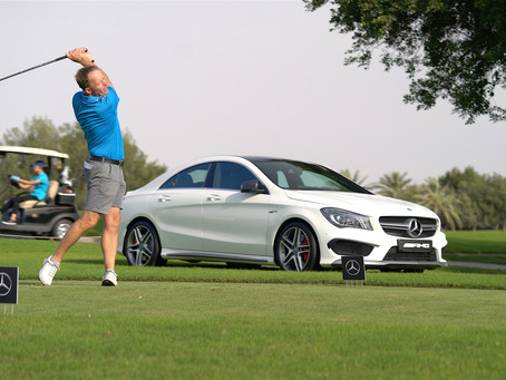 The Second edition of the MercedesTrophy Golf Tournament in Qatar gathers 88 players