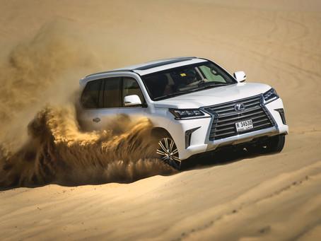 Loving Lexus, Doing Dubai in the desert busting LX 570