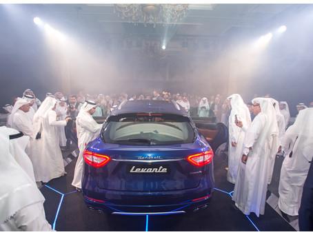 Levante: The Maserati of SUVs arrives in Qatar