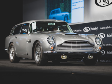 RECORDS SHATTERED AS CLASSIC ASTON MARTIN SPORTS CARS CHANGE HANDS FOR MILLIONS AT RM SOTHEBY'S SALE