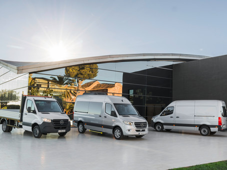 The thirdgeneration of Mercedes-Benz Sprinter impresses with its progressive design
