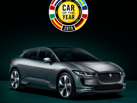 JAGUAR I-PACE IS EUROPEAN CAR OF THE YEAR