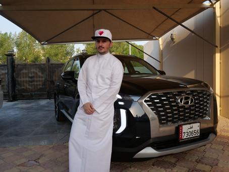 Khalifa Al Haroon discovers the new 2020 Palisade